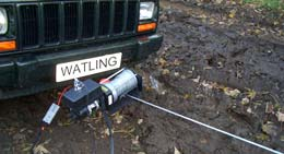 Detachable Front Mounted Winch