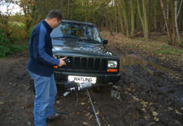 Watling Engineers. Car winch